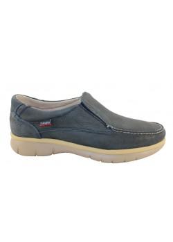 Zapato nobuck azul, Callaghan
