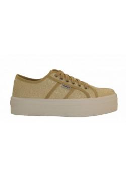 Zapatillas deportivas oro/plata, Victoria