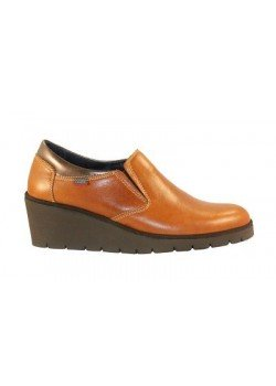 Zapato cuña cuero, Callaghan