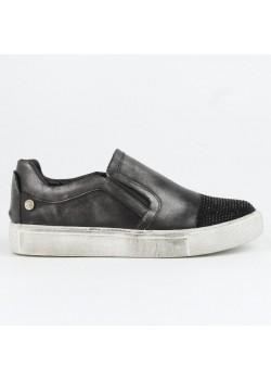 Zapatillas metalizadas negro, Xti