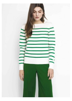 Jersey fino rayas verdes