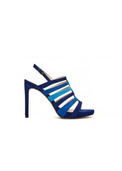 Sandalia azul klein Menbur