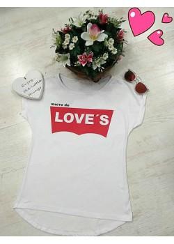 Camisetas morro de love